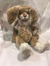 "Rosalie Frischmann ""Jasmin"" bunny Rabbit artist bear Gund Barton's Creek 16"""