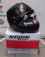 MODULAR MOTORCYCLE HELMET NOLAN N102 CLASSIC N-COM 009 MATT BLACK SIZE XS