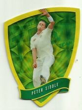 2009/10 Select Cricket Australia DIE CUT FDC19 PETER SIDDLE TEST TEAM CARD ACB