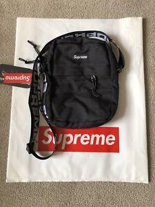 Supreme SS18 Shoulder Bag - Black - Read Description