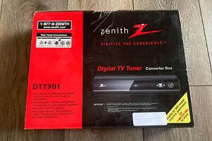 ZENITH DTT901 Digital TV Tuner Converter Box New Old Stock Never Used