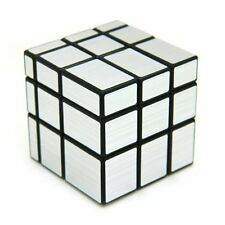US 3x3 Shengshou Mirror Magic Cube Speed Puzzle Fashion Game Gift Twist Smooth