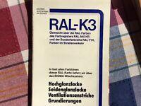 Ral Farbtonkarte K3 Original von Sigma