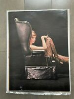 Vintage Lingerie Stockings advertising Print - Archival Poster Ad 60s