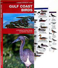 Gulf Coast Birds A Folding Pocket Guide to Familiar Species NEW