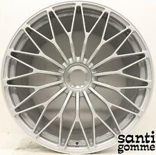 """1 rim LAMBORGHINI Aventador S 20 """" Dianthus Original Silver 470601017"""