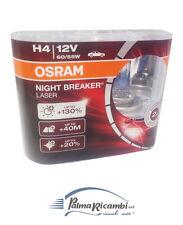 PAR DE LÁMPARAS OSRAM NOCHE BREAKER LASER H4 12V 60/55W +130% LUZ 64193NBL-HCB