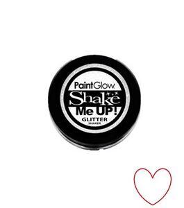 glitter shaker sparkle nail hair face body art festival party A7151Z24 white
