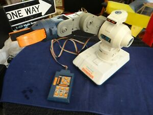 Vintage Radio Shack Mobile Remote Control Wired Robot Armatron ~ TESTED WORKS!!!