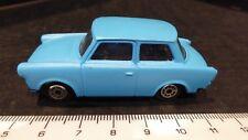 TRABANT 601 Matchbox type Diecast toy car 1/18 Blue