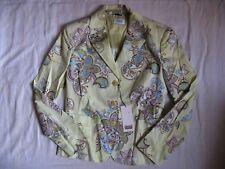 Viasassi Damen Blazer Jacke Stretch Gr.40/M women jacket collar regular fit