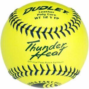 "Dudley 12"" USSSA WT 12 Thunder Heat Fastpitch Softballs (Dozen): 4U147Y"
