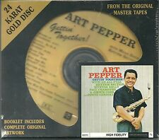 Pepper, Art Gettin`Togehter ! DCC GOLD CD NEU OVP Sealed GZS 1054