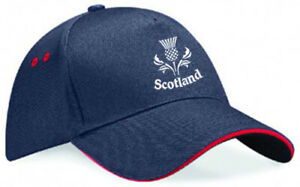 Embroidered Scotland Thistle Image, Baseball Cap, Ideal Gift
