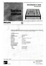 Service Manual-Anleitung in Dutch für Philips N 2506