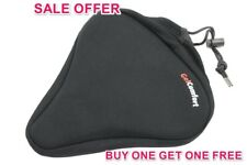 SOFT GEL EXTRA WIDE CYCLE BIKE SEAT UNISEX SADDLE COVER THE SALE BOGOF