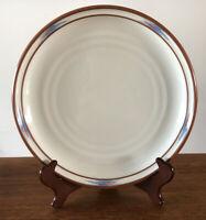 """Vintage Noritake Stoneware Raindance 8675 Dinner Plate, 10.25"""" Replacement EUC"""