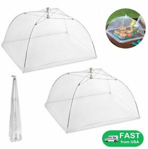 """Kitchen Food Cover Picnic Barbecue Party Fly Mosquito Mesh Net Tent 16"""" x 16"""" US"""