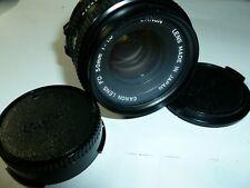 Canon FD 50mm F1.8 Lens excellent