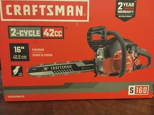 "Craftsman 16"" 2 cycle chainsaw"