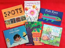Lot of 6 Children's Books: All About NUMBERS amd NUMERACY!