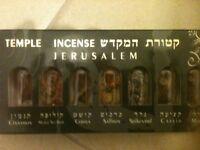 JERUSALEM HOLY TEMPLE INCENSE SPICES GIFT HOLYLAND SOUVINER Israeli HAVDALA
