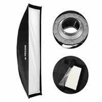 """12x35"""" 30x90cm Studio Lighting Softbox with Speed ring Bowens Mount for Strobe"""