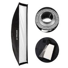 Meking 30x90cm Studio Lighting Softbox with Speed ring Bowens Mount for Strobe