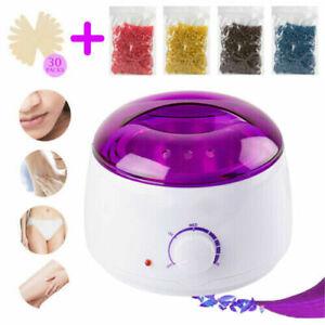 Wachswärmer Wachsgerät Set Warmwachs Haarentfernung Wax Salon Paraffinbad Set