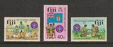 Fiji #351-353 VF MNH - 1974 3c to 40c Boy Scout Jamboree - SCV $3.00