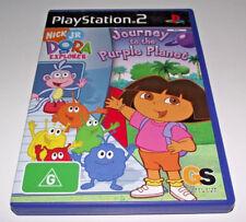 Dora Journey to the Purple Planet PS2 PAL *No Manual* Dora The Explorer Kids Fun