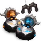 Kid Galaxy Remote Control Bump 'n Chuck Bumper Cars. RC Toy Game. 2 Radio Contro