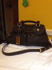 Marc Jacobs Classic Q- Baby Groovee Brown Leather Satchel