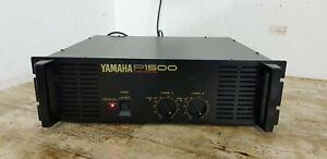 YAMAHA P1500 Black Power Amplifier UNTESTED