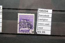 FRANCOBOLLI CASTIGLION INTELVI USATI USED (F96094)