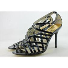 Sandalias con tiras de mujer de color principal negro talla 38