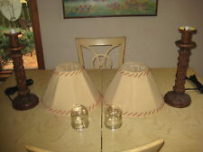 Outdoor indoor Resin Tiki Style Table Lamps Waterproof Patio Lamps Lights L@@K !
