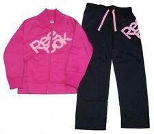Abbigliamento sportivo nero top per bambine dai 2 ai 16 anni