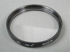 Russisches UV-Filter 62x0,75, 1x, 62mm Einschraubgew.