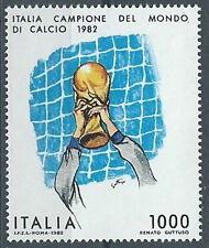 1982 ITALIA CAMPIONE DEL MONDO DI CALCIO MNH ** - ED