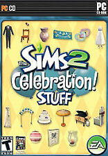 Brand New Sims 2: Celebration Stuff (PC, 2007) Brand New
