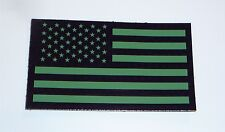 """FORWARD USA OD GREEN IR FLAG PATCH 3.5""""X2"""" WITH VELCRO® BRAND FASTENER COLL#394"""
