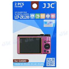 LCD Guard Film Camera Screen Protector For CASIO Exilim EX-ZR1200 ZR1100 ZR1000