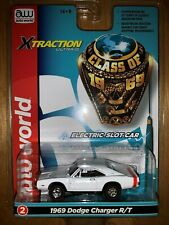***BRAND NEW*** Auto World Xtraction R27 1969 Dodge Charger White