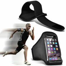 Nero ✔ qualità Sports Fascia Da Braccio Corsa Palestra Allenamento Cintura Cinghia Telefono Case Cover
