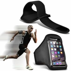 Black✔Quality Sports Armband Gym Running Workout Belt Strap Phone Case Cover