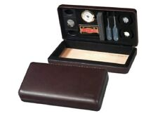 Csonka Cigar Humidor Traveler / Burgundy Wine / Ceder Bottom / Accessories / GST