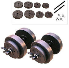 Golds Gym 40 Lb Vinyl Dumbbell Dumbbells Hand Weights Set Weight Adjustable