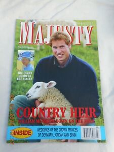 MAJESTY MAGAZINE  VOL 25  NO 7   JULY 2004   COUNTRY HEIR (WILLIAM)