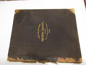 1897 Atlas & Directory of Medina County, Ohio Township Villages Hamlets Maps